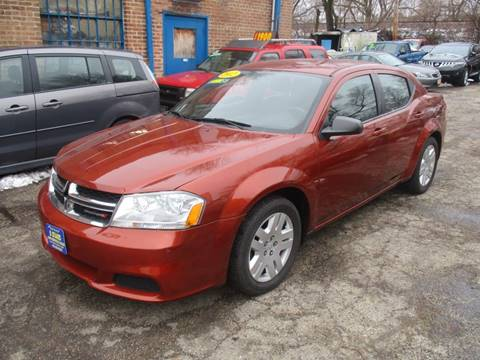 2012 Dodge Avenger for sale at 5 Stars Auto Service and Sales in Chicago IL