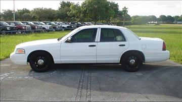 2008 Ford Crown Victoria for sale in Margate, FL