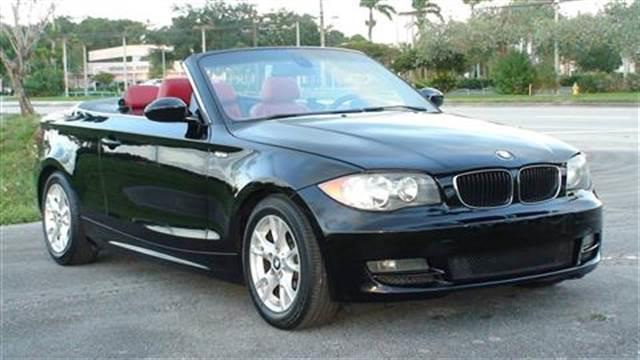 2008 Bmw 1 Series 128i 2dr Convertible SULEV In Margate FL - Florida ...