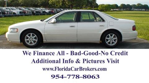 2002 Cadillac Seville for sale in Margate, FL