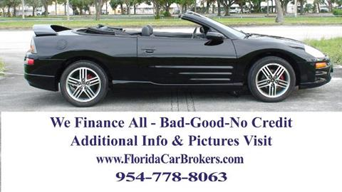 2003 Mitsubishi Eclipse Spyder for sale in Margate, FL