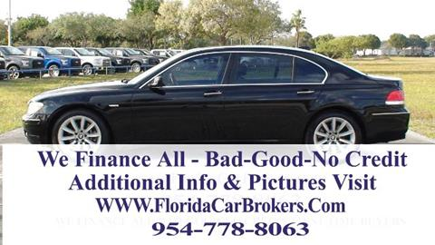 2008 BMW 7 Series for sale in Margate, FL