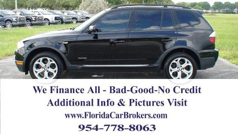 2009 BMW X3 for sale in Margate, FL