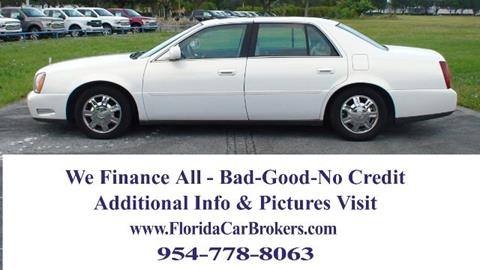 2005 Cadillac DeVille for sale in Margate, FL
