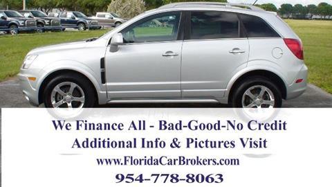 2013 Chevrolet Captiva Sport for sale in Margate, FL