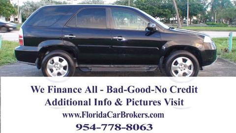 2005 Acura MDX for sale in Margate, FL