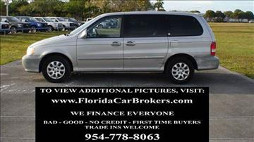 2005 Kia Sedona for sale in Margate, FL
