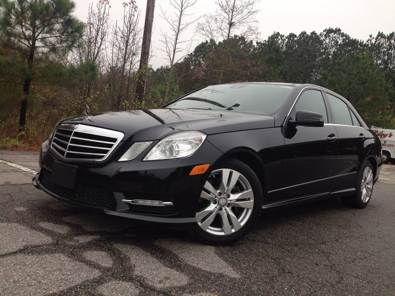 2013 Mercedes Benz E Class E350 Bluetec Luxury In Durham