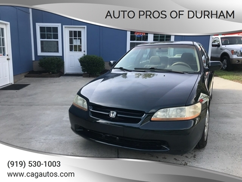 1999 Honda Accord for sale in Durham, NC