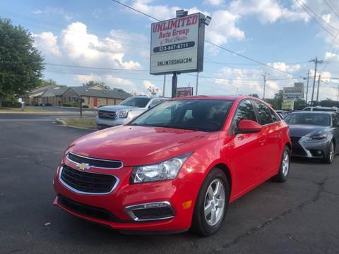 2015 Chevrolet Cruze for sale in West Chester, OH