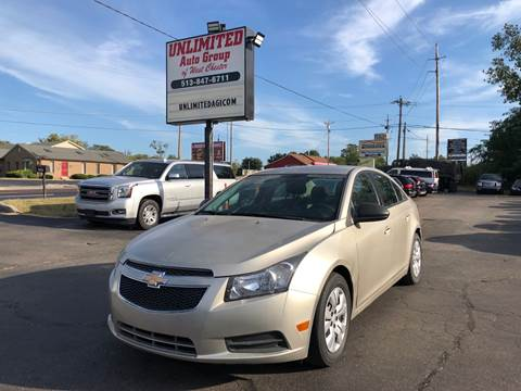 2013 Chevrolet Cruze for sale in West Chester, OH