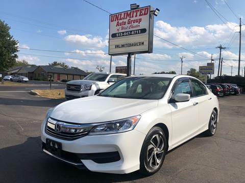 2017 Honda Accord for sale in West Chester, OH
