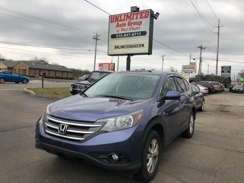 2013 Honda CR-V for sale at Unlimited Auto Group in West Chester OH
