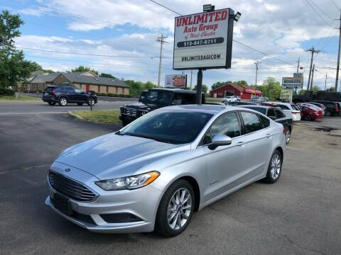 2017 Ford Fusion Hybrid for sale at Unlimited Auto Group in West Chester OH