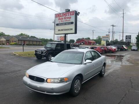 2001 Buick Century for sale at Unlimited Auto Group in West Chester OH
