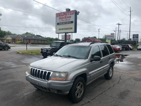 2000 Jeep Grand Cherokee for sale at Unlimited Auto Group in West Chester OH