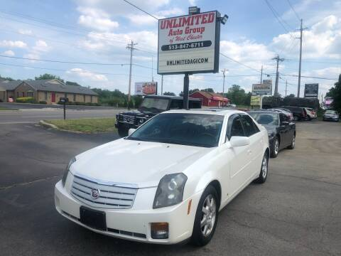 2007 Cadillac CTS for sale at Unlimited Auto Group in West Chester OH