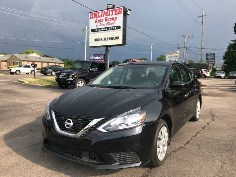 2018 Nissan Sentra for sale at Unlimited Auto Group in West Chester OH