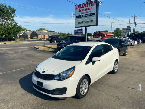 2015 Kia Rio for sale at Unlimited Auto Group in West Chester OH