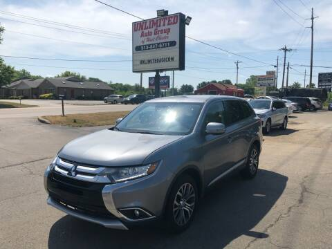 2017 Mitsubishi Outlander for sale at Unlimited Auto Group in West Chester OH