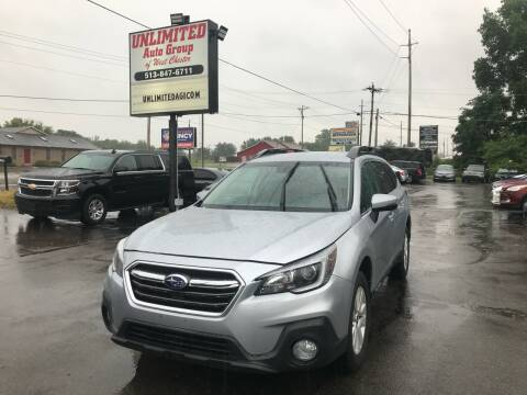 2018 Subaru Outback for sale at Unlimited Auto Group in West Chester OH