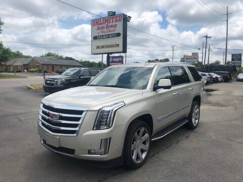2017 Cadillac Escalade for sale at Unlimited Auto Group in West Chester OH
