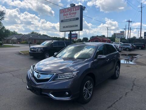 2018 Acura RDX for sale at Unlimited Auto Group in West Chester OH