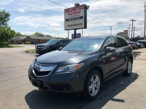 2014 Acura RDX for sale at Unlimited Auto Group in West Chester OH