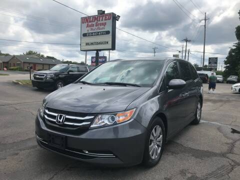 2016 Honda Odyssey for sale at Unlimited Auto Group in West Chester OH