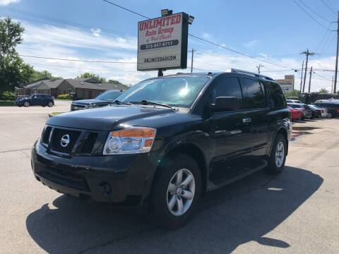 2015 Nissan Armada for sale at Unlimited Auto Group in West Chester OH