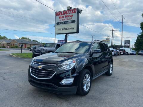 2016 Chevrolet Equinox for sale at Unlimited Auto Group in West Chester OH