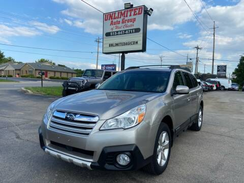 2014 Subaru Outback for sale at Unlimited Auto Group in West Chester OH