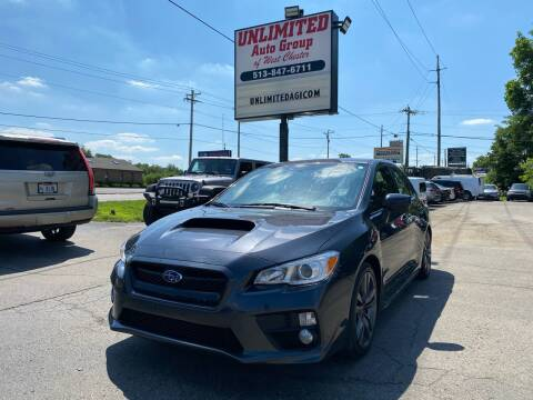 2017 Subaru WRX for sale at Unlimited Auto Group in West Chester OH