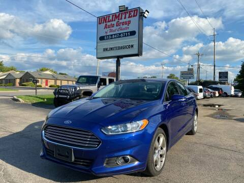 2016 Ford Fusion for sale at Unlimited Auto Group in West Chester OH