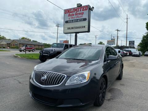 2016 Buick Verano for sale at Unlimited Auto Group in West Chester OH