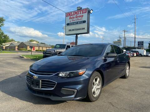 2017 Chevrolet Malibu for sale at Unlimited Auto Group in West Chester OH