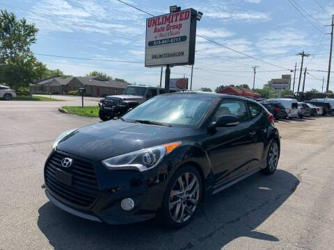 2014 Hyundai Veloster for sale at Unlimited Auto Group in West Chester OH