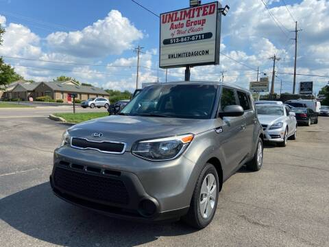 2015 Kia Soul for sale at Unlimited Auto Group in West Chester OH