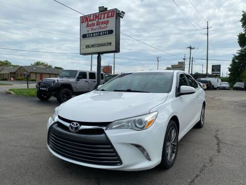 2016 Toyota Camry for sale at Unlimited Auto Group in West Chester OH