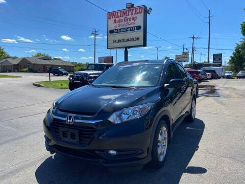 2016 Honda HR-V for sale at Unlimited Auto Group in West Chester OH