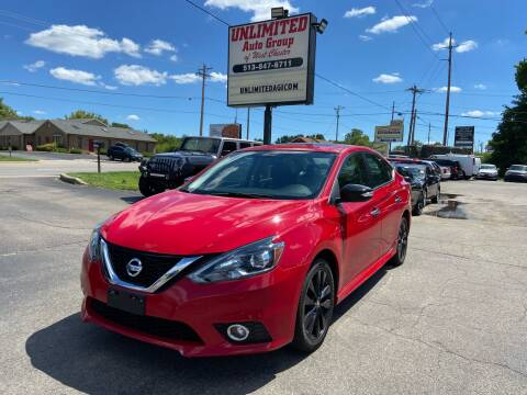 2017 Nissan Sentra for sale at Unlimited Auto Group in West Chester OH