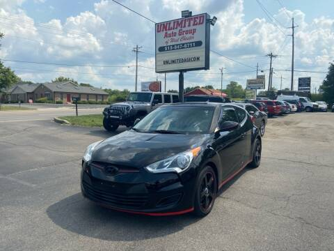 2013 Hyundai Veloster for sale at Unlimited Auto Group in West Chester OH