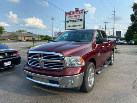 2018 RAM Ram Pickup 1500 for sale at Unlimited Auto Group in West Chester OH