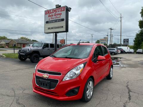 2015 Chevrolet Spark for sale at Unlimited Auto Group in West Chester OH