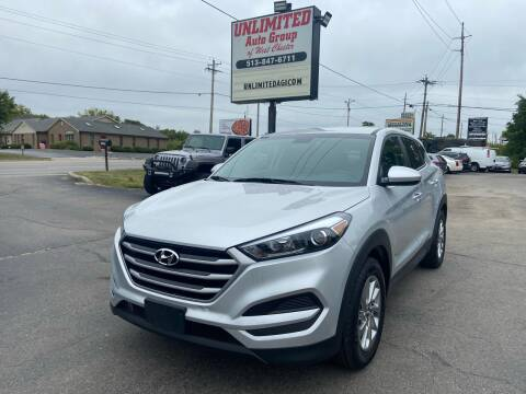 2018 Hyundai Tucson for sale at Unlimited Auto Group in West Chester OH