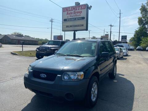 2005 Ford Escape for sale at Unlimited Auto Group in West Chester OH