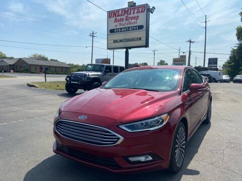 2017 Ford Fusion for sale at Unlimited Auto Group in West Chester OH