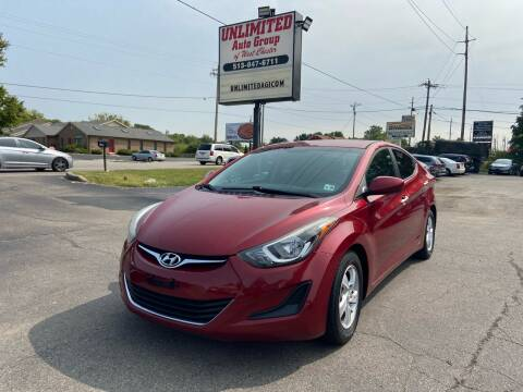 2015 Hyundai Elantra for sale at Unlimited Auto Group in West Chester OH
