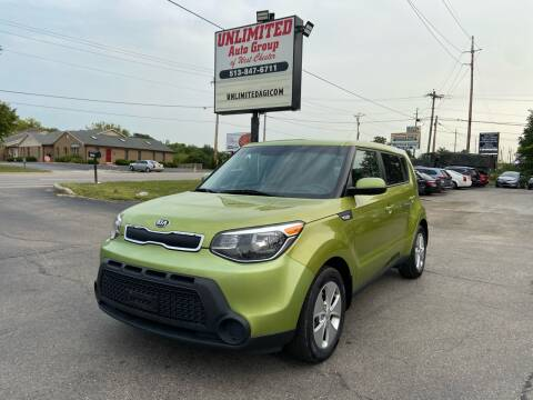 2014 Kia Soul for sale at Unlimited Auto Group in West Chester OH