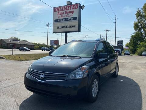 2008 Nissan Quest for sale at Unlimited Auto Group in West Chester OH